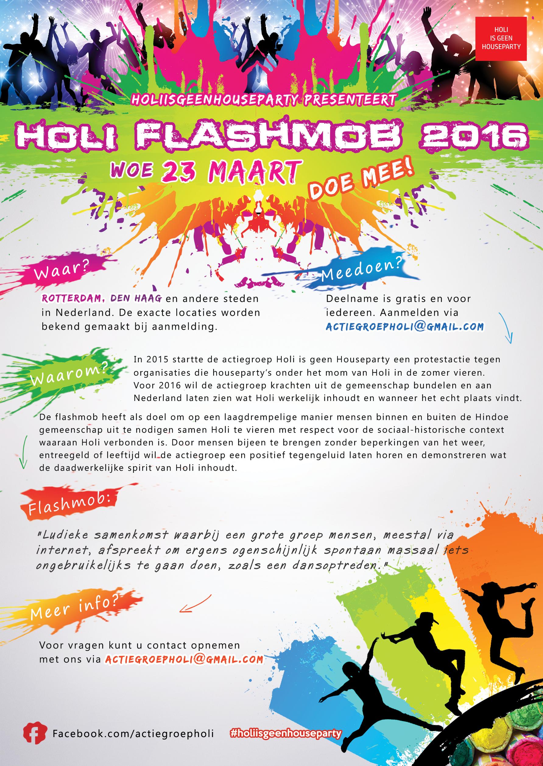 Holi Flashmob